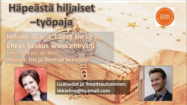 Häpeästä hiljaiset Helsinki kesä 2018